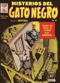 Cover Thumbnail for Misterios del Gato Negro (Editora de Periódicos La Prensa S.C.L., 1953 series) #87