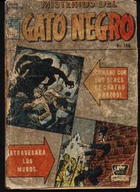 Cover Thumbnail for Misterios del Gato Negro (Editora de Periódicos La Prensa S.C.L., 1953 series) #156