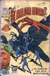 Cover Thumbnail for El Halcon Negro (Editora de Periódicos La Prensa S.C.L., 1951 series) #147