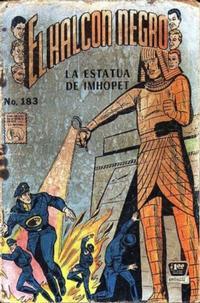 Cover Thumbnail for El Halcon Negro (Editora de Periódicos La Prensa S.C.L., 1951 series) #183