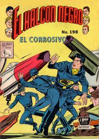 Cover Thumbnail for El Halcon Negro (Editora de Periódicos La Prensa S.C.L., 1951 series) #198
