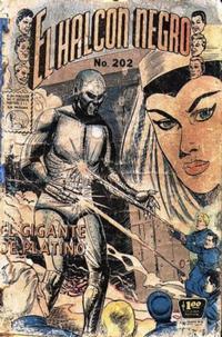 Cover Thumbnail for El Halcon Negro (Editora de Periódicos La Prensa S.C.L., 1951 series) #202