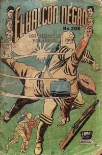 Cover Thumbnail for El Halcon Negro (Editora de Periódicos La Prensa S.C.L., 1951 series) #208