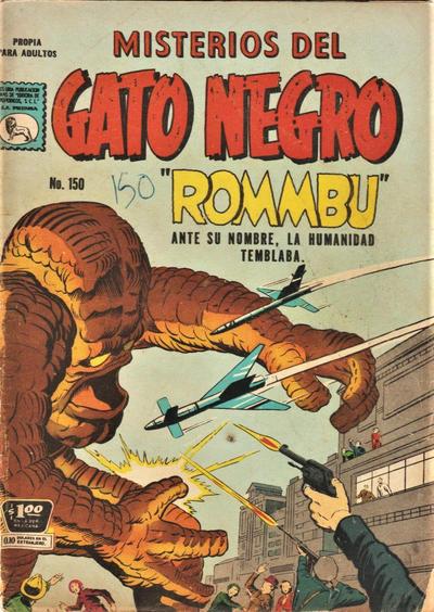 Cover for Misterios del Gato Negro (Editora de Periódicos La Prensa S.C.L., 1953 series) #150