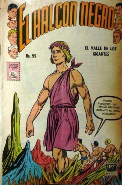 Cover for El Halcon Negro (Editora de Periódicos La Prensa S.C.L., 1951 series) #95