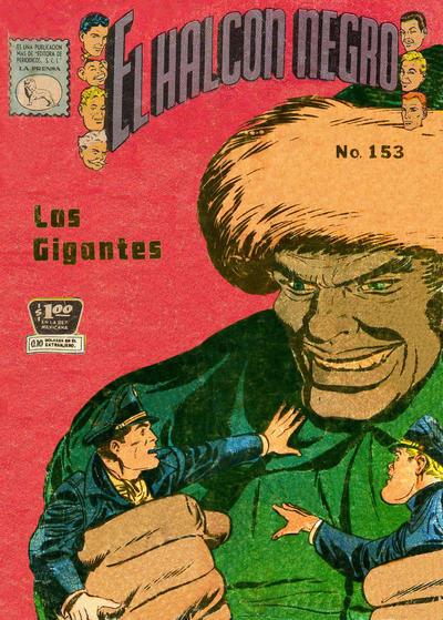 Cover for El Halcon Negro (Editora de Periódicos La Prensa S.C.L., 1951 series) #153