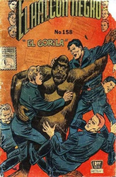 Cover for El Halcon Negro (Editora de Periódicos La Prensa S.C.L., 1951 series) #158