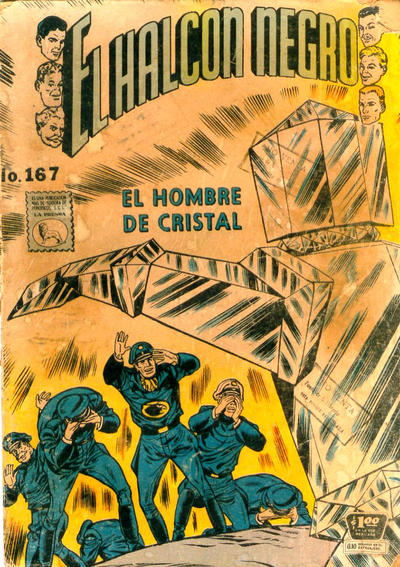 Cover for El Halcon Negro (Editora de Periódicos La Prensa S.C.L., 1951 series) #167