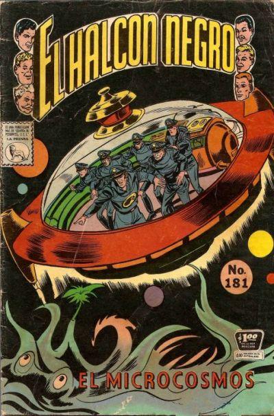 Cover for El Halcon Negro (Editora de Periódicos La Prensa S.C.L., 1951 series) #181