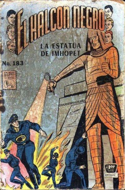 Cover for El Halcon Negro (Editora de Periódicos La Prensa S.C.L., 1951 series) #183