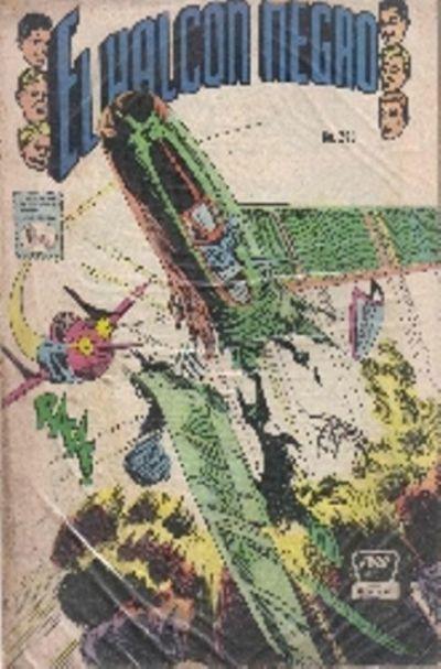 Cover for El Halcon Negro (Editora de Periódicos La Prensa S.C.L., 1951 series) #260