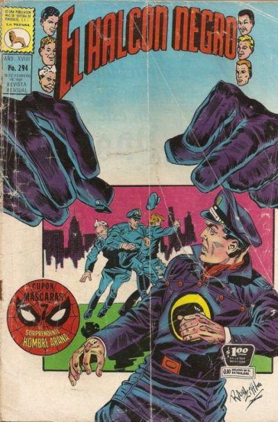 Cover for El Halcon Negro (Editora de Periódicos La Prensa S.C.L., 1951 series) #294