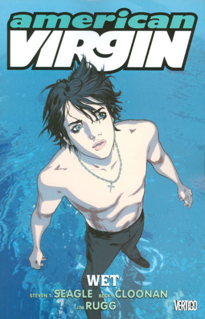 Cover for American Virgin (DC, 2006 series) #3 - Wet