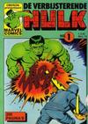 Cover for De verbijsterende Hulk (Oberon, 1979 series) #1