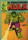 Cover for De verbijsterende Hulk (Oberon, 1979 series) #3