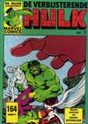Cover for De verbijsterende Hulk (Oberon, 1979 series) #7
