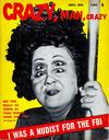 Cover for Crazy, Man, Crazy (Charlton, 1955 series) #v2#1