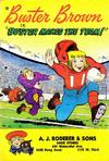 """Cover for Buster Brown in """"Buster Makes the Team!"""" (American Comics Group, 1959 series)"""