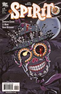 Cover Thumbnail for The Spirit (DC, 2007 series) #11