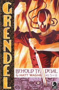 Cover Thumbnail for Grendel: Behold the Devil (Dark Horse, 2007 series) #5