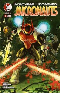 Cover Thumbnail for Micronauts (Devil's Due Publishing, 2004 series) #3
