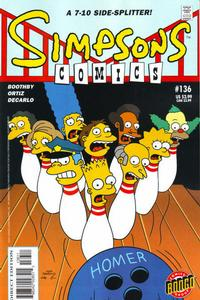 Cover Thumbnail for Simpsons Comics (Bongo, 1993 series) #136