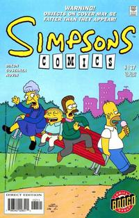 Cover Thumbnail for Simpsons Comics (Bongo, 1993 series) #137
