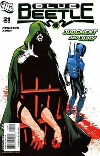 Cover Thumbnail for The Blue Beetle (DC, 2006 series) #21
