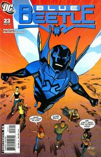 Cover Thumbnail for The Blue Beetle (DC, 2006 series) #23