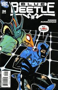 Cover Thumbnail for The Blue Beetle (DC, 2006 series) #24