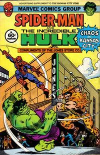 Cover Thumbnail for Spider-Man and the Incredible Hulk [Kansas City Star] (Marvel, 1982 series) #[nn]