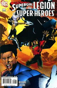 Cover for Supergirl and the Legion of Super-Heroes (DC, 2006 series) #36