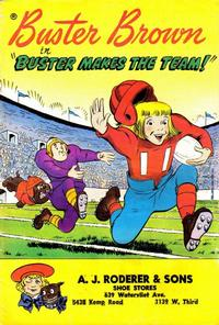 """Cover Thumbnail for Buster Brown in """"Buster Makes the Team!"""" (American Comics Group, 1959 series)"""