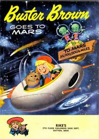 Cover Thumbnail for Buster Brown Goes to Mars (Western, 1958 series)