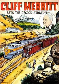 Cover Thumbnail for Cliff Merritt Sets the Record Straight (Brotherhood of Railroad Trainmen, 1965 series) #[nn]