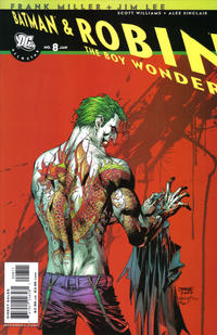 Cover Thumbnail for All Star Batman & Robin, the Boy Wonder (DC, 2005 series) #8 [Direct]