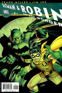 Cover Thumbnail for All Star Batman & Robin, the Boy Wonder (DC, 2005 series) #9 [Direct]