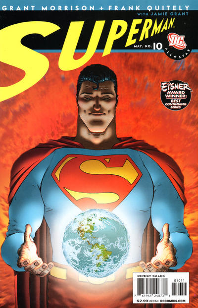Cover for All Star Superman (DC, 2006 series) #10