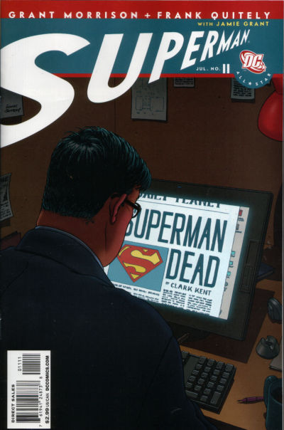 Cover for All Star Superman (DC, 2006 series) #11