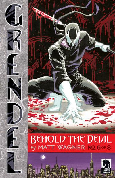 Cover for Grendel: Behold the Devil (Dark Horse, 2007 series) #6