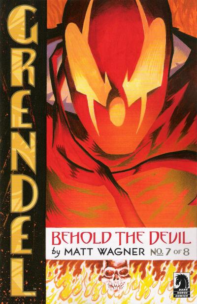 Cover for Grendel: Behold the Devil (Dark Horse, 2007 series) #7
