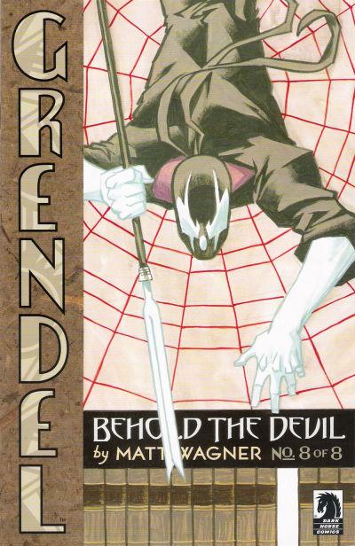 Cover for Grendel: Behold the Devil (Dark Horse, 2007 series) #8
