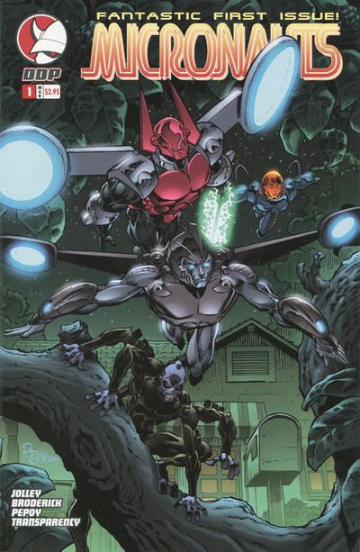Cover for Micronauts (Devil's Due Publishing, 2004 series) #1