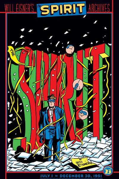 Cover for Will Eisner's The Spirit Archives (DC, 2000 series) #23
