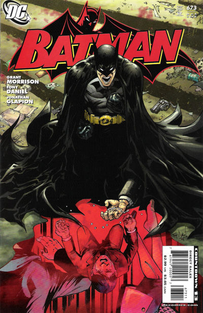 Cover for Batman (DC, 1940 series) #673