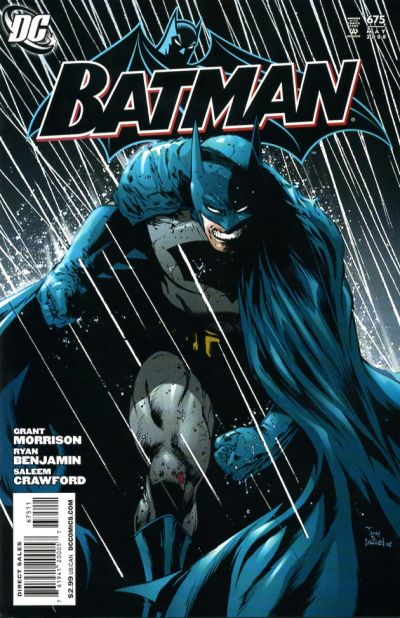 Cover for Batman (DC, 1940 series) #675 [Direct]