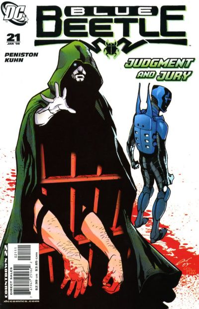 Cover for The Blue Beetle (DC, 2006 series) #21