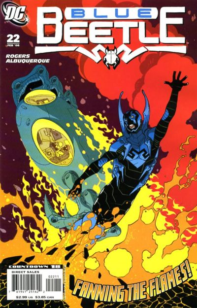 Cover for The Blue Beetle (DC, 2006 series) #22
