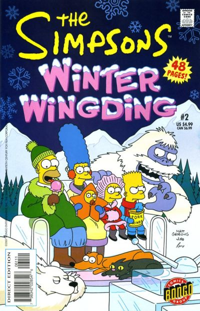 Cover for The Simpsons Winter Wingding (Bongo, 2006 series) #2