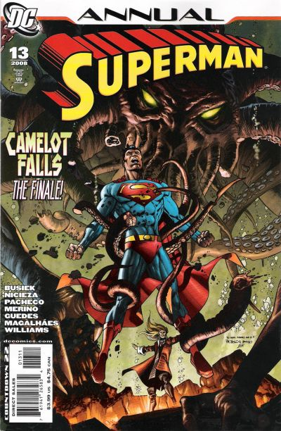 Cover for Superman Annual (DC, 2008 series) #13